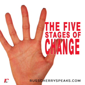 5 STAGES OF CHANGE