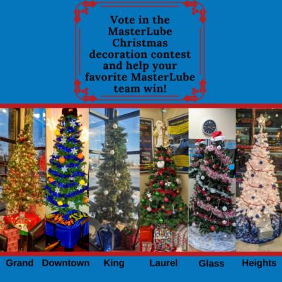 masterlube christmas decorations contest 2019