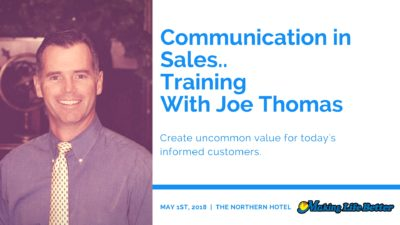 Joe Thomas Sales Training