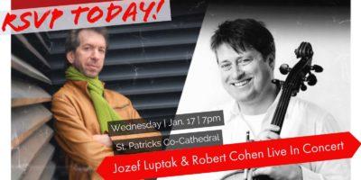 Jozef Luptak & Robert Cohen Concert Billings