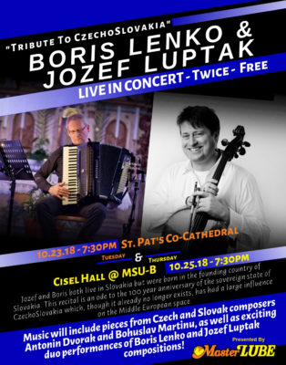 Jozef Luptak & Boris Lenko Billings MT