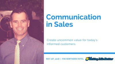 Joe Thomas, Sales training
