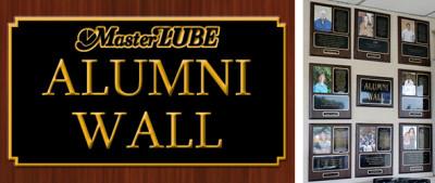 MasterLube Alumni Wall