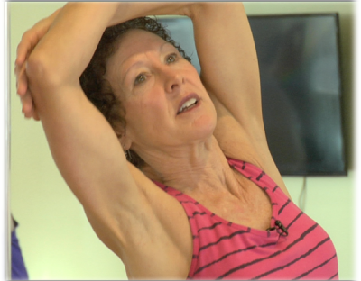 Yoga instructor Elizabeth Klarich