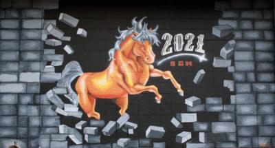 billings senior mural 2021