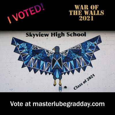 skyview mural
