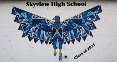 skyview mural 2021